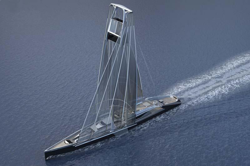 Проект парусных яхт