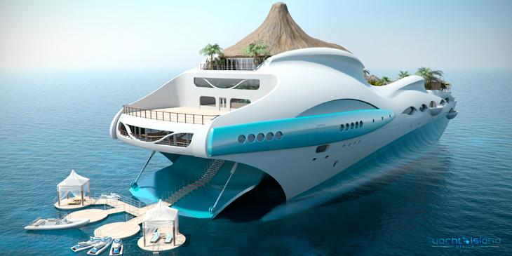 Конструкция корпуса яхты